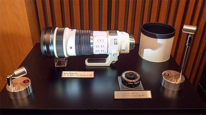 「M.ZUIKO DIGITAL ED 150-400mm F4.5 TC1.25x IS PRO」と「M.ZUIKO DIGITAL 2x Teleconverter MC-20」