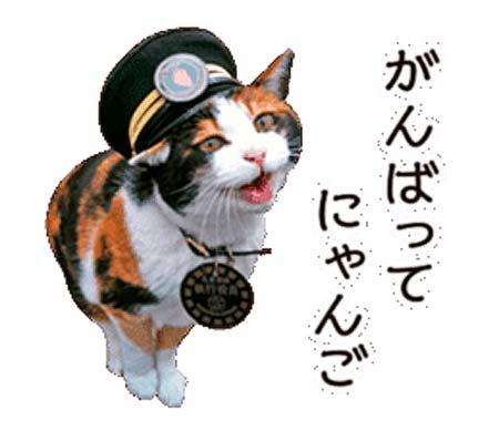和歌山電鐵「たま駅長と仲間たち」LINEスタンプを発売
