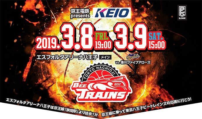 京王,「東京八王子ビートレインズ」ヘッドマーク付き電車を2月1日から運転