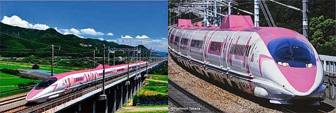 ハローキティ新幹線 ポストカード