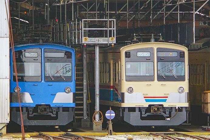 近江鉄道900形が700系「あかね号」と同じ塗装に