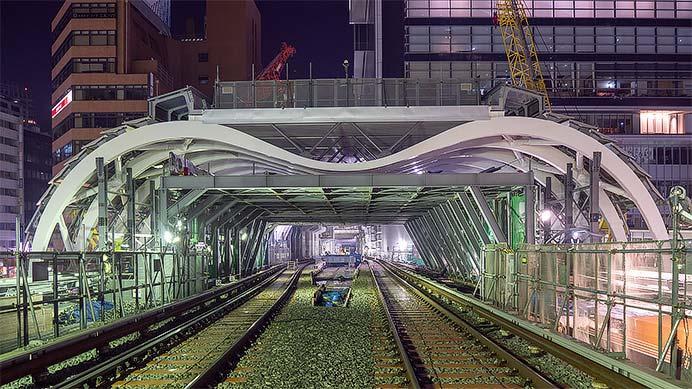 東京メトロ,銀座線渋谷駅の工事を公開
