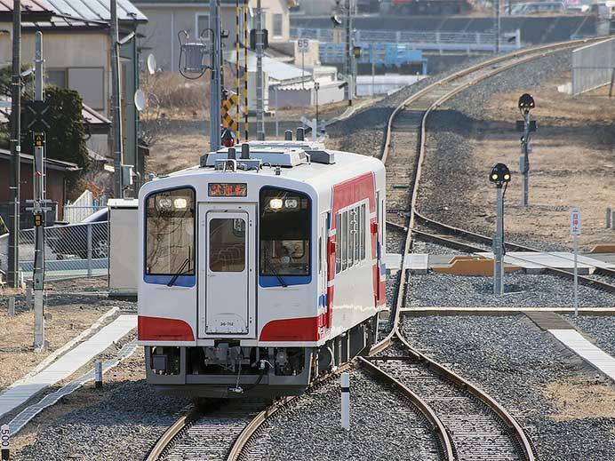 山田線で報道機関向けの試乗会開催