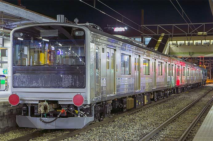 富士急行6000系が甲種輸送される