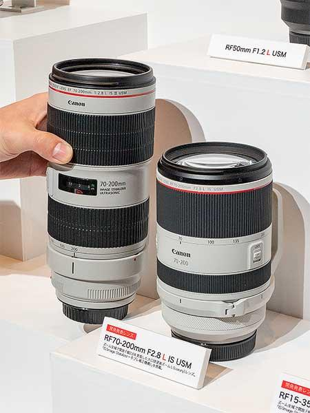 「RF70-200mm F2.8 L IS USM」