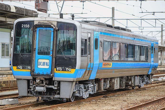 JR四国2000系2156号車が多度津工場から出場