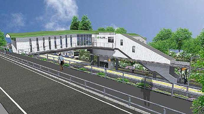 常磐線夜ノ森駅の橋上駅舎化と東西自由通路新設に着手