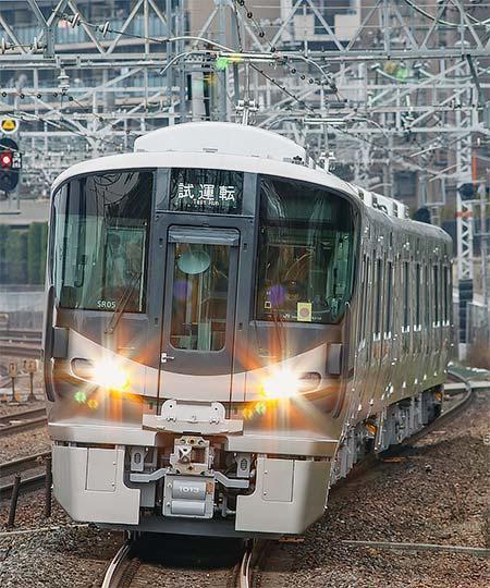 227系1000番台SR04編成・SR05編成が登場