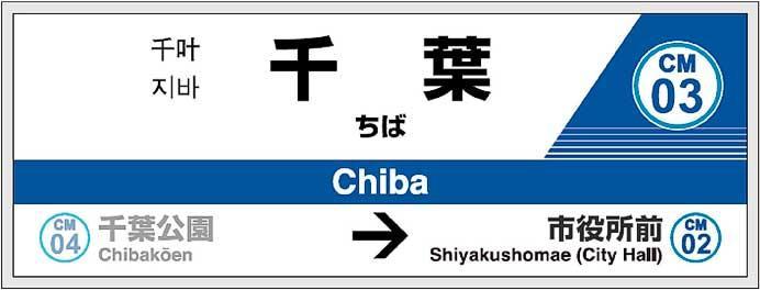 千葉モノレール,2月下旬から順次駅ナンバリングを導入