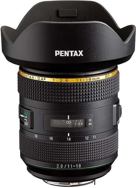 「HD PENTAX-DA★11-18mmF2.8ED DC AW」