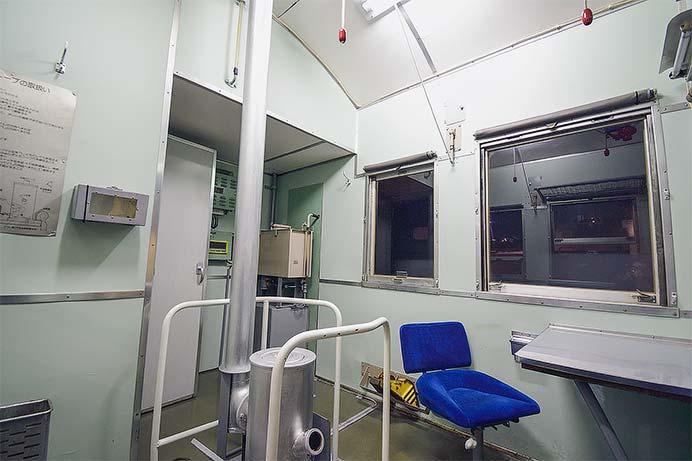 鉄道博物館で『レムフ10000形式冷蔵緩急車の車掌室公開』開催