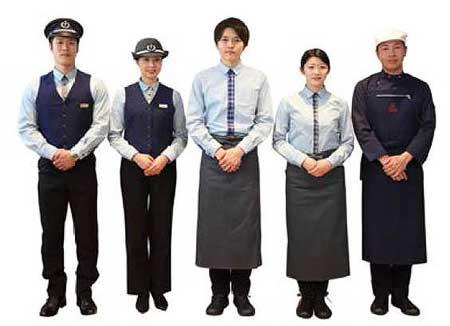 「THE RAIL KITCHEN CHIKUGO」クルーの制服と食器が決定