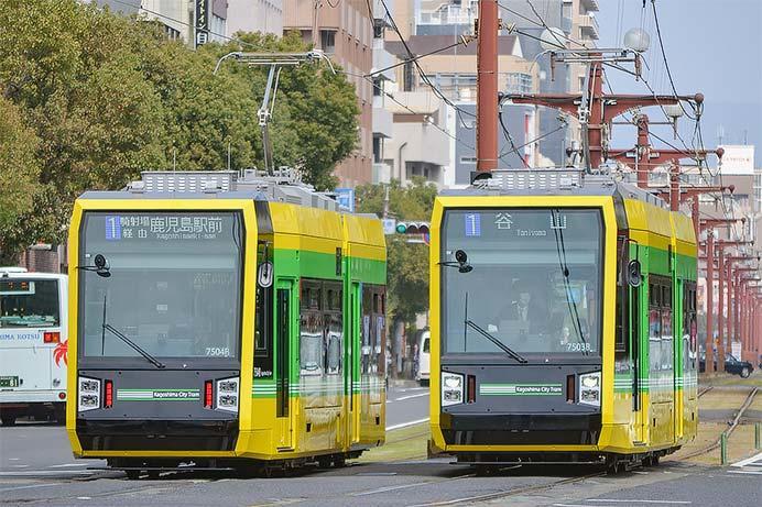 鹿児島市交7500形2次車が営業運転を開始