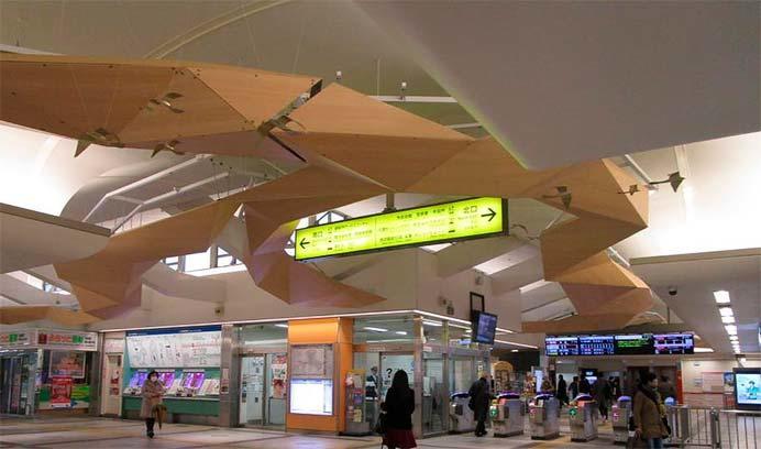 西武飯能駅のリニューアル工事が完成
