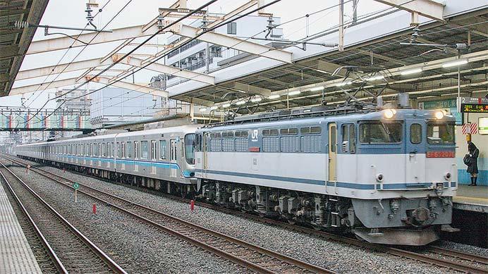 東京メトロ07系が甲種輸送される