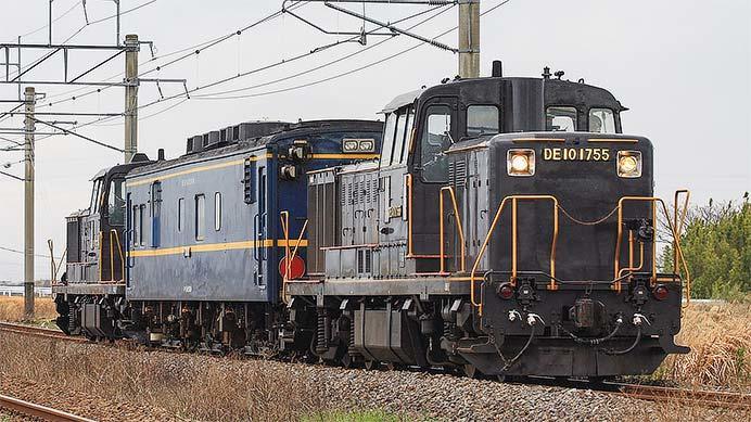DE10 1755が北部九州で運用される