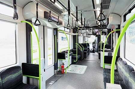 広島電鉄,3月14日から5200形「Greenmover APEX」の営業運転を開始