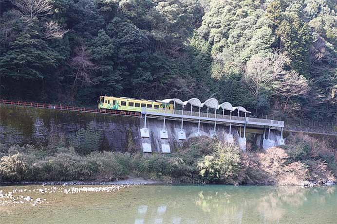 錦川鉄道,清流みはらし駅が3月19日に開業