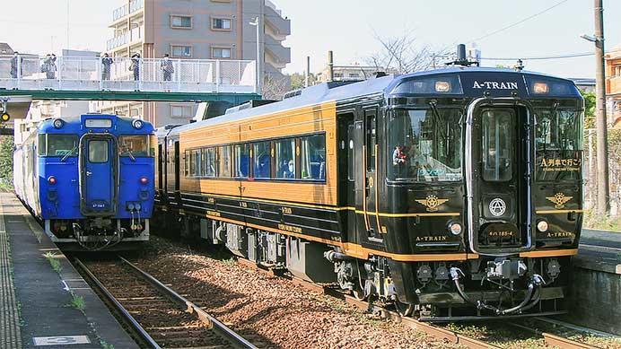 「A列車で行こう」が香椎線に入線
