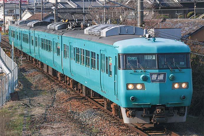 117系が和歌山線の定期運用から撤退