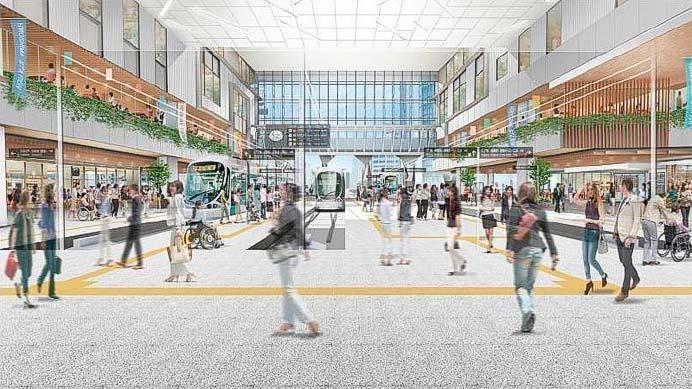 広島駅新駅ビルの概要が決定