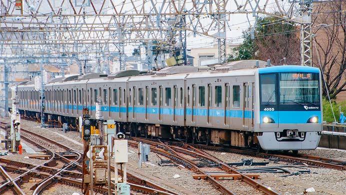 小田急,新宿行き各駅停車の一部が10両編成に