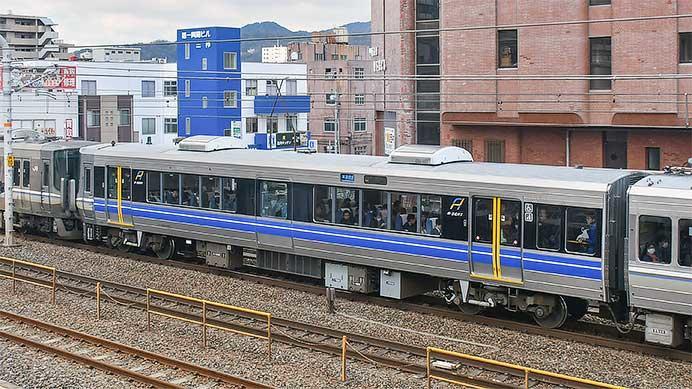 JR西日本で「Aシート」車が営業運転を開始