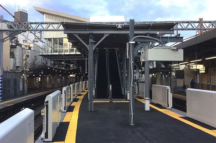 小田急,3月16日から代々木八幡駅橋上駅舎・新ホームの使用を開始