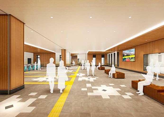 東武,3月17日から幸手駅新駅舎の供用開始