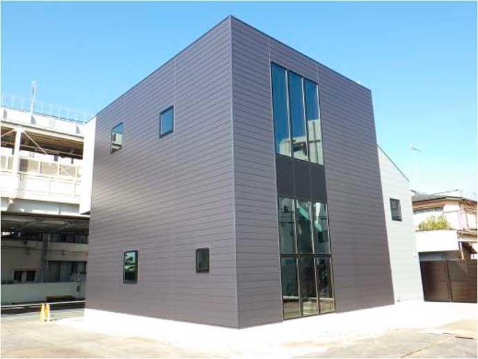 湘南モノレール,富士見町駅下り新駅舎を3月21日から供用開始