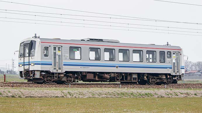 キハ120 317が敦賀へ
