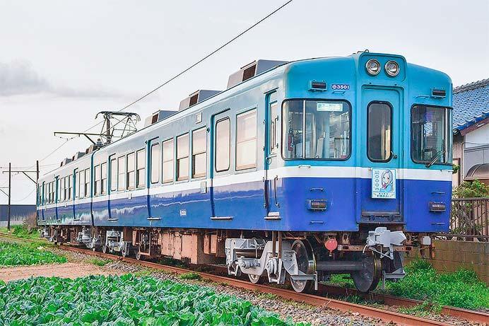 銚子電鉄3000形が検査を終え本線運用に復帰