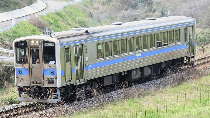 キハ31形が原田線で運転される