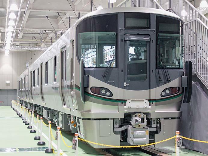 京都鉄道博物館で227系1000番台が展示される
