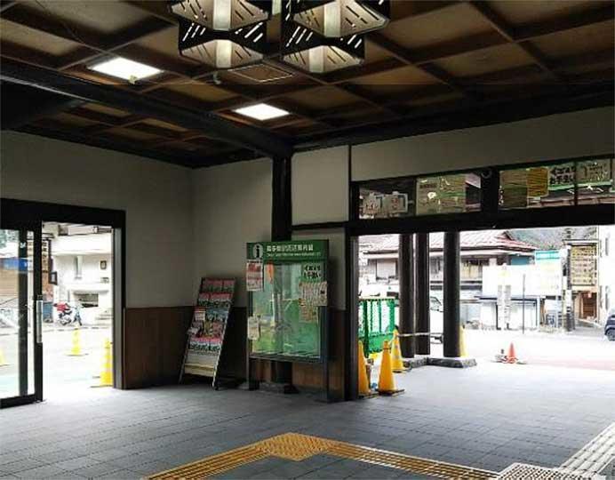 青梅線奥多摩駅,4月にリニューアルオープン