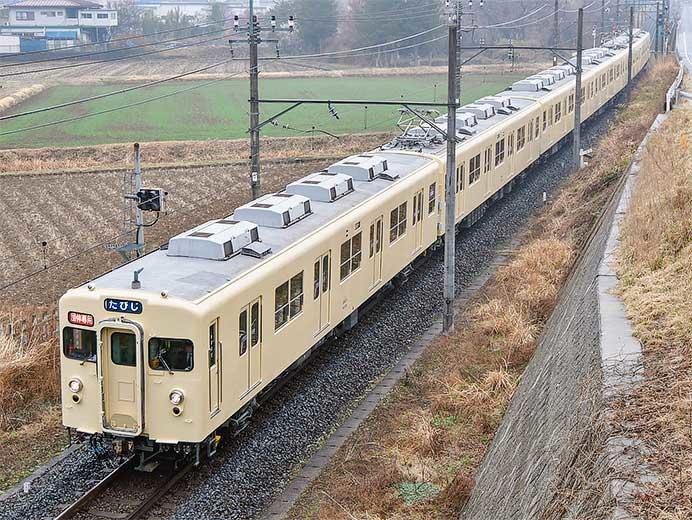 東武8000系8111編成が初めて鬼怒川線へ