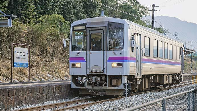 芸備線三次—中三田間が暫定ダイヤで運転再開