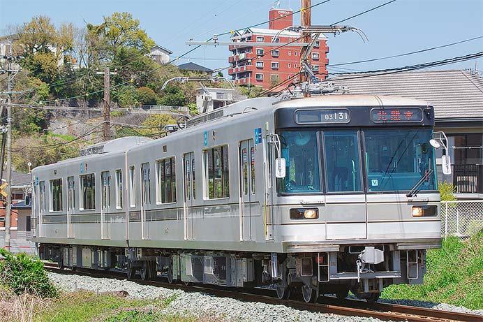 熊本電鉄03形が営業運転を開始