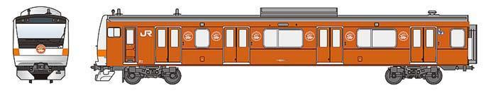 「中央線開業130周年記念キャンペーン」ラッピングトレイン