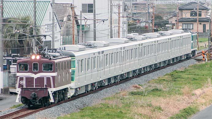 東京メトロ13000系第30編成が甲種輸送される