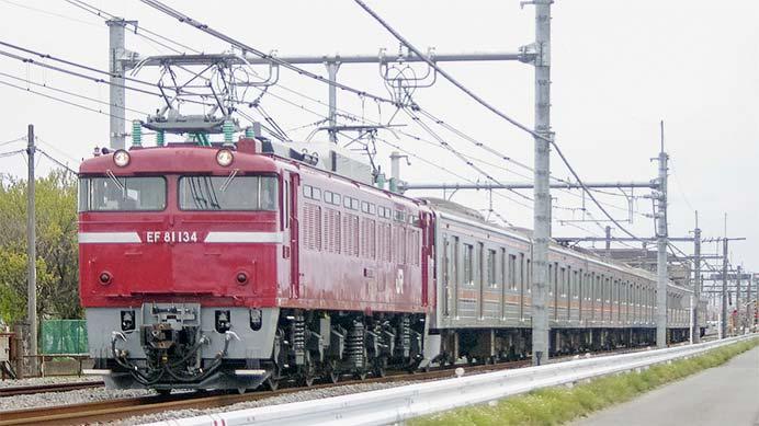 205系M34編成が新津へ