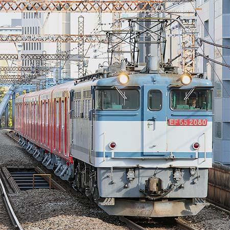 東京メトロ2000系第6編成が甲種輸送される