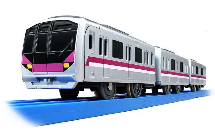 プラレール「ぼくもだいすき!たのしい列車シリーズ 東京メトロ半蔵門線08系」発売