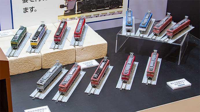 トミーテック,Nゲージの電気機関車を順次リニューアルへ