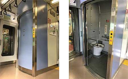 E233系0番台トイレ設置車両,5月27日から運転開始