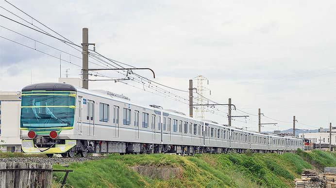 東京メトロ13000系第32編成が甲種輸送される