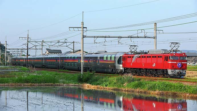 「カシオペア」が上越線経由で秋田へ