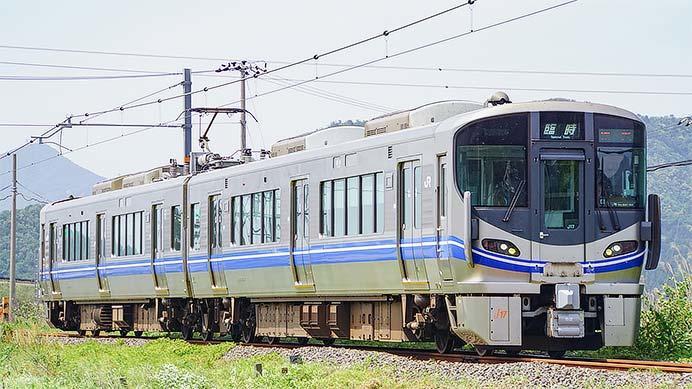 小浜線で521系3次車による臨時列車運転