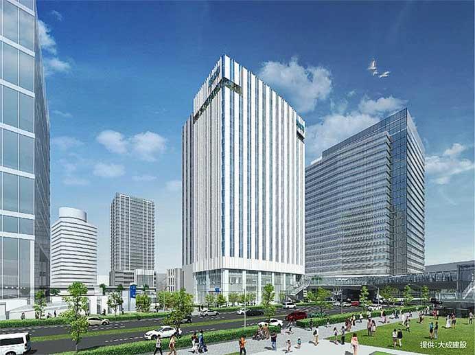 京急グループ11社,9月17日からみなとみらい21地区の新本社ビルに移転