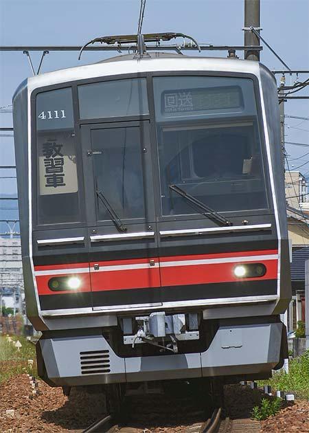 瀬戸線で乗務員訓練列車運転
